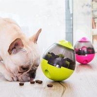 Cute Puppy Dog Toys Supplies Leakage Ball Interactive Tool IQ Toy Pets Dog Game Bowl Pet Tumbler Feeding Food Npmlv