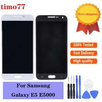 Paneles táctiles Original para Samsung Galaxy E5 E500 E500F E500H E500M Pantalla LCD Pantalla digitalizador Reemplazo del ensamblaje 100% probado con herramientas