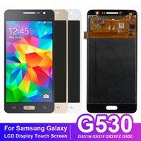 Yeni Yüksek Kaliteli 5.0 '' Dokunmatik Ekran Sayısallaştırıcı Sensörü Siyah Beyaz Gold ile Samsung Galaxy Grand Prime G530 G531 LCD Ekran için