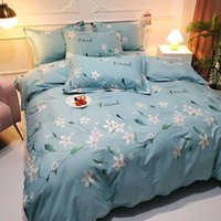 100% Cutton Plant and Flower Series Super Breathe Skin Friendly Queen King Size Luxury Comforters Bedding Sets AMS29026