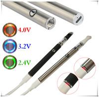 Slim Preheating Starter Kit construido en 350mAh Batería Variable Voltaje Vape con .5ml Vacío Vaporizador Pen Carts en PP TUBE