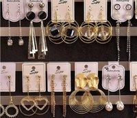 10paare / los Mix Stil Mode Ohrringe Nagel Für Frauen Handwerk Schmuck Geschenk Ohrring EA025