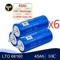 18шт 66160 2.3V 30Ah 35AH 40Ah 45Ah литий титаната Cell LTO батареи 25000 Жизненный цикл для 12V 24V 36V 48V DIY обновления