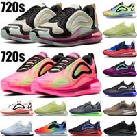 2020 720s Gerçek Olabilir Neon Koleksiyon Koşu Ayakkabıları Mens Üçlü Siyah Beyaz Kuzey Işıkları Gün Deniz Orman Erkek Kadın Tasarımcı Sneakers US36-45