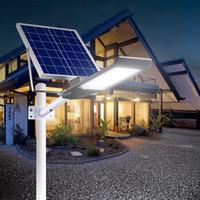 LED Солнечный свет Открытый безопасности Прожектор солнечный уличный свет IP66 водонепроницаемый Авто-индукционный солнечный свет потока для лужайки сада