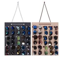 Glasses storage bag Felt wall Sunglasses hanging bag Wall Or...
