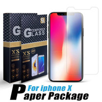 Gehärtetes Glas für iPhone 12 xs Max Samsung S21 A32-5G LG Stylo 6 Huawei P40 Screen Protector 9h Protector Film Individuelles Paket