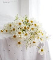 Small daisy simulation bouquet chamomile living room furnish...