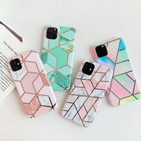 For Iphone 12 11 Pro Max 2020 Gradient Square Lattice Patter...