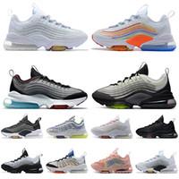 nike ayakkabı air max zm950 airmax 950 Bayan erkek koşu ayakkabıları Üçlü Beyaz Renkli Siyah Japonya Volt Neon Gökkuşağı spor eğitmenler spor ayakkabı