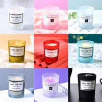 Aromaterapia Velas Românticas Aniversário Perfumado Vela Criativa Lembrança Dia dos Namorados Velas 15 Sabores podem ser personalizados Etiqueta XD23994