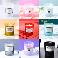 Aromatherapie-Kerzen Romantische Geburtstagsduftkerze Kreative Souvenir Valentinstag Kerzen 15 Aromen können angemessenes Etikett XD23994 angepasst werden