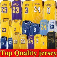 NCAA James Anthony 3 Davis Men Kids University Basketball Jerseys 32 Johnson Kyle 0 Kuzma 14 Ingram 2020 Novo