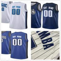 Custom Printed Jerseys Top Quality New City Blue White Black...