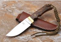 cinghiale fissata lama dritta VG10 61-62HRC HRC lama Maniglia di campeggio lama tattica coltelli natale lama del regalo per l'uomo a1657