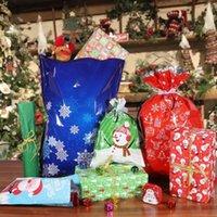 7pcs Caramelo Bolsas creativo plástico ligero exquisito Goody bolsas de fiesta trata de Candy Wraping Envoltura de regalo de Navidad