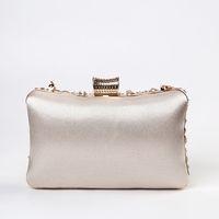 Bag Luxury Handbag Pearl Wedding Apricot Clutch Evening Moon Women Womens Handmade Luxy Shoulder Party Purse ZD1536 Iqsjk