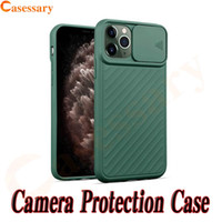 Slidable Door Camera Protection TPU Phone Case for iPhone 12...