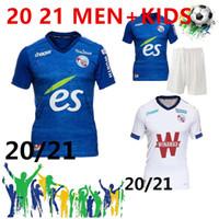 20 21 مايوه نادي ستراسبورغ لكرة القدم جيرسي 2019 2020 قمصان كرة القدم DJIKU توماسون LALA MOTHIBA سيسوكو لكرة القدم جيرسي