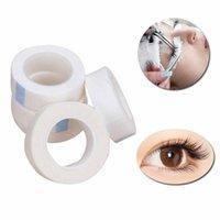 Adhésifs de cils 5 rouleaux Extension de cils professionnels Micropore Ruban de papier de haute qualité L0730
