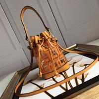 2020 Vendas Quentes Marca De Moda Luxo Saco De Ombro Designer Bolsas Designer Bag Double F Bucket Lucency Fashion Bag Frete grátis