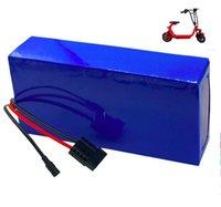 Aucun impôt pour nous, la batterie au lithium ionique de haute qualité de l'UE pour le scooter électrique 60V 20AH comprend BMS et le chargeur