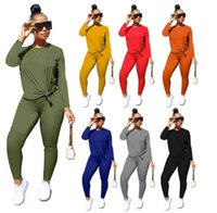 Womens outfits two piece set designer tracksuit sportswear outdoor sport suit sweatshirt tights sport suit new hot sale klw4730