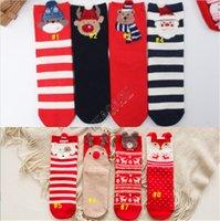 الكبار عيد الميلاد الجوارب كارتون الدب إلك المصممين منتصف الساق طول جورب جديد إمرأة بنات الشتاء رشاقته القطن جوارب أنبوب الجوارب D92105