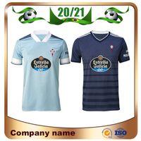 20/21 Celta Vigo Jerseys Soccer 2021 Home Iago Aspas M.gomez Ok Busin Mendez Football Shirt