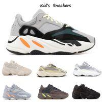 Новая детская обувь West Wave Wave Runner 7oo девушка кроссовки 5OO светлый малыш тренер мальчика кроссовки детей спортивная обувь черный красный