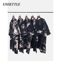 Turbare 2020SS Uomini / Donne gotico Tee Shirts Streetwear Hip Hop manica corta Punk Rock Tie Dye magliette Hipster Top 0921
