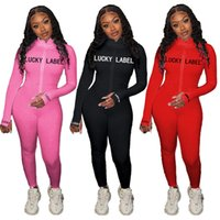 Женщины сексуальные Комбинезоны сплошной цвет комбинезон молния тощие onesie длинный рукав Bodysuits Clubwear летняя одежда тонкий один кусок брюки 3714