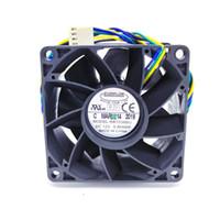 EVERFLOW RB7038BU 70x70x38MM DC12V 0.80A ventilateur de refroidissement ordinateur 4 lignes