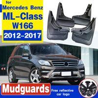 Car Fender boue Rabats pour Benz Classe M ML Classe W166 2012-2017 2014 2015 ML300 ML350 ML500 W / Marchepied Garde-boue