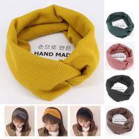 New Autumn Winter Women Hairband Crochet Knit Wool Bandanas for Hair Head Band Turban Headband Head Wrap Bands Girls Accessories