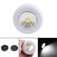 COB LED Gece Işığı Dolap Dokunmatik Işık Lambası 3W Akülü Mutfak Dolabı Dolap itin dokunun Ana Çubuk Açık Lambası