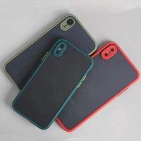 Kameraobjektivschutz Telefon Fall für iPhone 11 PRO MAX X XS MAX XR Translucent Harte Stoßdämpfe Rückseite
