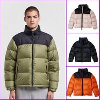 2020 New Mens Down Jacket Stylist Mantel Blätter Printing Parka Winterjacke Männer Frauen Winter-Feder-Mantel-Jacken-Mantel-Größe M-XXL