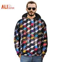 3d-Platz Printed Lustige Hoodies Männer beiläufige lose Pullover mit Kapuze Sweatshirts 2020 Homme Kleidung Herbst-Winter-Trainingsanzüge