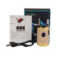 Autêntica capacidade da bateria TH-420 II BOX Kit cabo de energia do monitor luz da bateria atual de 0,5 ml atomizador capacidade USB 650mAh diferente