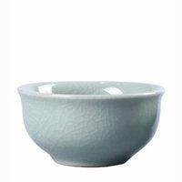 2020 6pcs kaliteli Kung-fu çay set Seramik Çay bardağı çince seyahat seti Buz çatlak çay bardağı