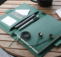 Assuntos de Negócios de Alta Classificação Superfície de Couro Superfície Espessamento Escritório Notebook Moda Simplicidade Planejador Agenda Diário 2020