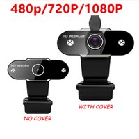Hd 1080p 720p 480p Webcam Computer PC Web Camera con il microfono per Live Video Broadcast Chiamata Conferenza Workcamara Web Para Pc