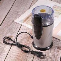 Moedores de café manual moedor elétrico spice feijão cereais maçantes máquina máquina de aço inoxidável lâminas de cozinha