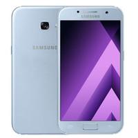 Remis à neuf d'origine Samsung Galaxy A5 2017 A520F 5,2 pouces Octa de base 3 Go de RAM 32 Go ROM 16MP téléphone portable 4G LTE Android