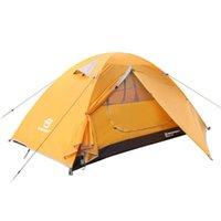 Палатки и укрытия Bessport Tent 1-2 человека Ultralight Camping водонепроницаемый 3-4 сезон купола Мгновенная установка для Trekking, открытый, фестиваль