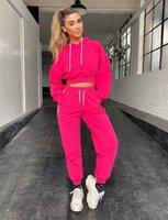 Kadın Eşofman Uzun Kollu Çizgili Kasetli Pant Kadınlar Tasarımcı Setleri Şeker Renk Bayan Giyim 2 Adet Set