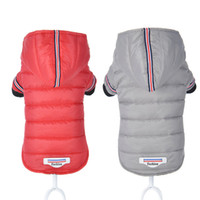 الكلب الملابس الشتاء الدافئة كلب سترة معطف جرو تشيهواهوا الملابس هوديس للكلاب الصغيرة الصغيرة جرو يوركشاير الزي XS-XL