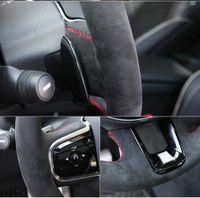 Schwarz DIY handgenähten Leder Auto Lenkradabdeckung für BMW M Sport 20 G30 G31 G32 G21 X3 G01 G02 X4 G05 X5 G14 G15 G16