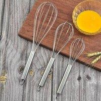 Aço inoxidável Ovo Mexer manual Batedor de ovo Mixer Kitchen Baking utensílio creme de manteiga Ferramentas HHA1565